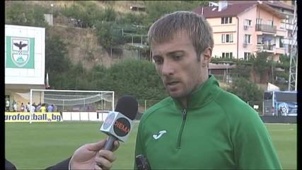 ВИДЕО: Мартин Тошев е Играч на мача Пирин - Черно море