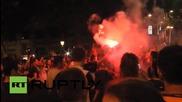 30,000 фена на Барселона празнуват победата