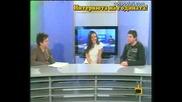 Тв Кракра - Продължението Двама Водещи Провеждат Интервю Господари На Ефира 5.05.11