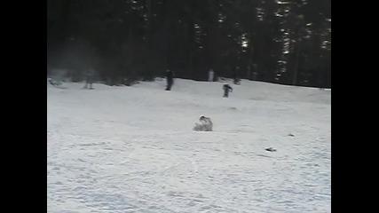 Тест нови ски 2008