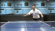Уроци по тенис на маса - Придържане на топката ниско до мрежата