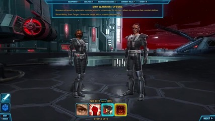 The Old Republic - Character Creation - 2