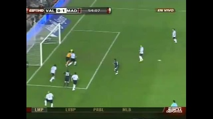 Real Madrid vs Valencia 3 - 2 Full 12.12 2009