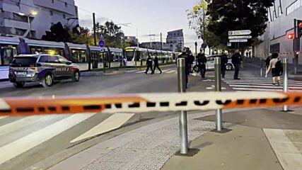 France: Knife-wielding man shot dead after attacking police officers in Paris suburb