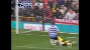 Manchester United 2-0 Qpr || Premier League 08.04.2012