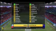 World Cup 2014 - Chile vs Australia 3-1