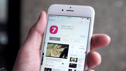 Приложението на Vbox7 вече и за iOS