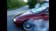 Палене на Гуми с Peugeot 406 Coupe