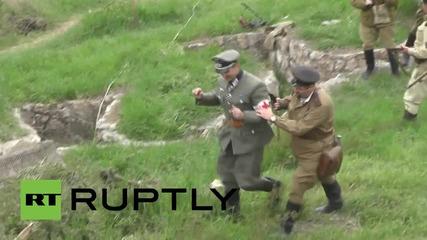 Историческа възстановка в Севастопол по случай 71 години от освобождението на града