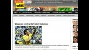 Шок! Национал на Парагвай прострелян в главатa