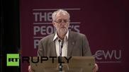 UK: Corbyn attacks 'political choice' of austerity