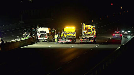 Italy: Authorities inspect A1 highway, clear debris after security vehicle attack
