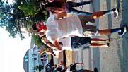 Ачо от Сливен играе зумба