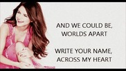 Selena Gomez -write your name