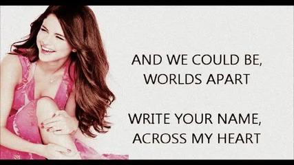 Selena Gomez -write your name