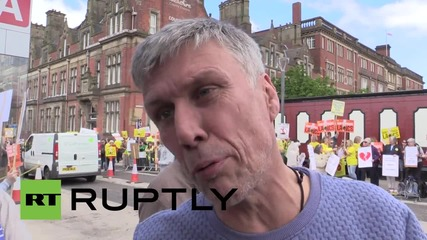 UK: Activists say 'frack off' to shale prospecting in Preston