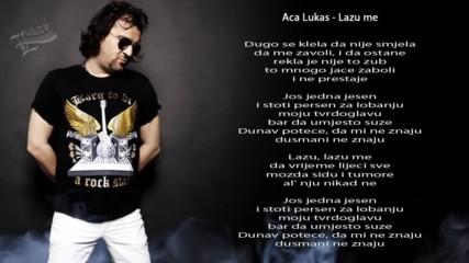 Aca Lukas - Lazu me - (Audio - Live 1999)