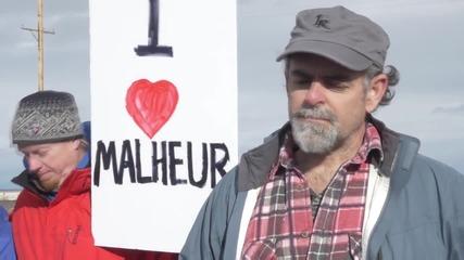 USA: 'Stop Bundy Land Grab!' - Protesters decry Oregon militia occupation