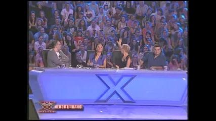 Неизлъчвано ! Второто изпълнение на Мари Колева в X Factor