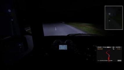 Euro Truck Simulator 2 - геймплей епизод [10] Отново снимаме с кака ви стели ;д,въпрос към vbox7
