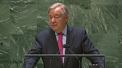 UN: Guterres says 'world must wake up' to 'greatest cascade of crises in our lifetimes'