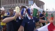 Френските фенове в еуфория от класирането в Топ 8