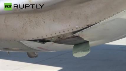 Сингапурски самолет бе принуден да кацне аварийно след сблъсък с яко щъркели
