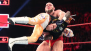 Lars Sullivan obliterates Rey Mysterio: Raw, April 15, 2019