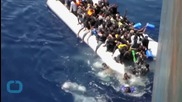 Video Reveals the Desperate Scramble to Safety for Mediterranean Migrants