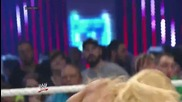 Nikki Bella vs. Total Divas cast - Handicap Match Wwe Main Event, July 8, 2014