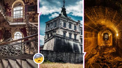 Едни от най-красивите, но изоставени и зловещи замъци