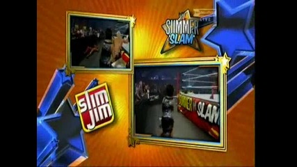Summer Slam 2010 - Dolph Ziggler vs Kofi Kingston