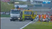 Accident Formule Renault 2.0 Spa 2011