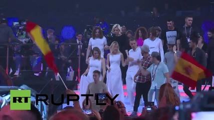 Подготовката за Евровизия 2015 в Австрия