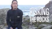 Жените, които рискуват животите си на скалите