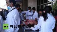 Болниците в Катманду лекуват пострадалите от земетресението