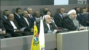 Venezuela: Iran's Rouhani hands over NAM presidency to Maduro