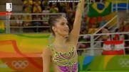 Невяна Владинова - лента - Олимпийски Игри Рио 2016 (квалификации)