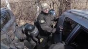 Ukraine: Police and protesters break ex-Aidar members' blockade of Kiev boat park