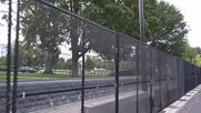 USA: Temporary fence set up around Capitol as a security measure ahead of 'Justice for J6' rally