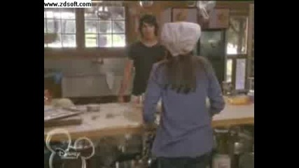Shane Gets A Lesson From Mitchie (Camp Rock scene)