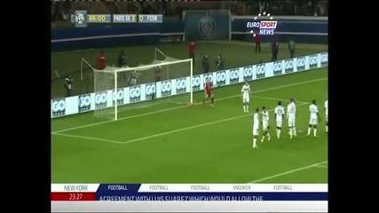 """ПСЖ – """"Сошо"""" 5:0, Ибрахимович с 2 гола"""