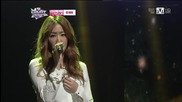 130207 Soyou ( Sistar ) - Because I Love You @ Mcountdown