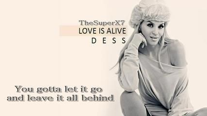 New! Десислава - Love is Alive [ Текст ] ( Евровизия България2012)