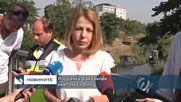 Превантивно срещу наводнения: Почистват коритата на реките в София