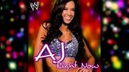 "Wwe A.j Theme Song - ""right Now"""
