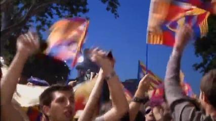 Барселона се потопи в радост от титлата