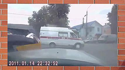 Брутални катастрофи с линейки