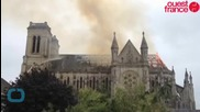 Massive Fire Ravages 19th Century French Basilica