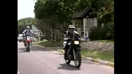 Принцове с мотоциклети